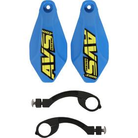 AVS Racing Handschutz Set dunkelblau